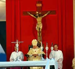 Benedicto XVI  dedica Santa Misa a Patrona de Cuba