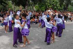Pioneros camagüeyanos celebran aniversario de la Revolución
